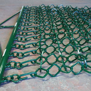 Chain mesh section